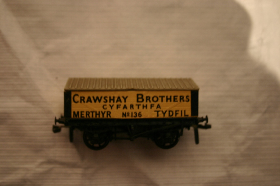 Covered lime wagon model - Cyfartha (ACVMS:1998.81_001)