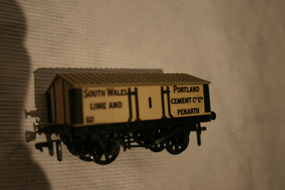 Peco lime wagon model – Penarth (ACVMS:1994.81_002)