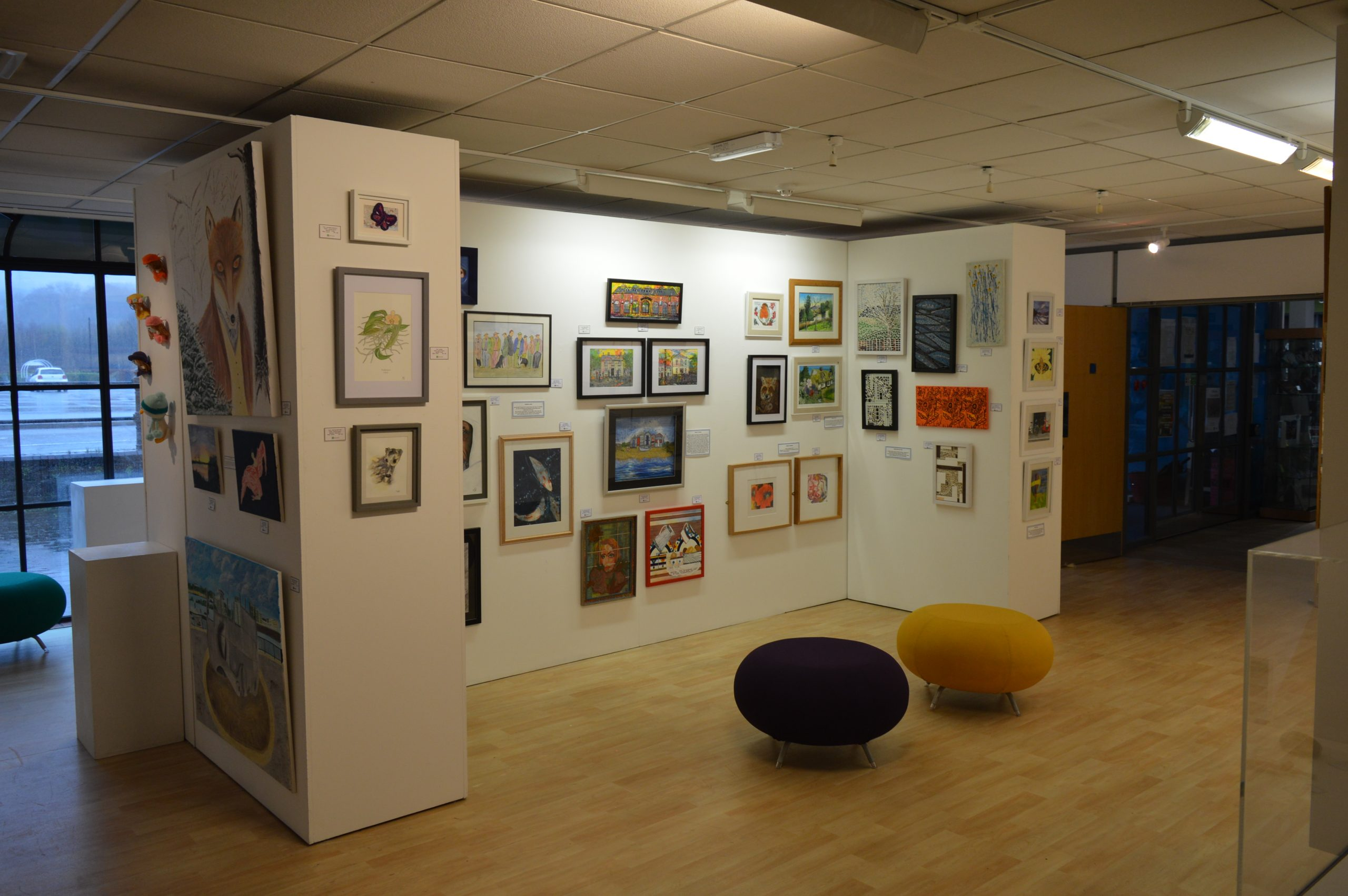 Art gallery at Cynon Valley Museum