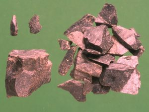 Selection of flint objects discovered at Cefn Rhos Gwair, described in the body of the text.