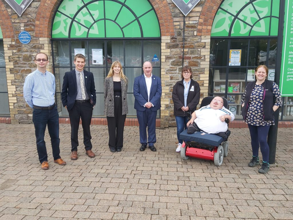 Vattenfall, Pen Y Cymoedd and Vikki Howells Visit 8/10/21