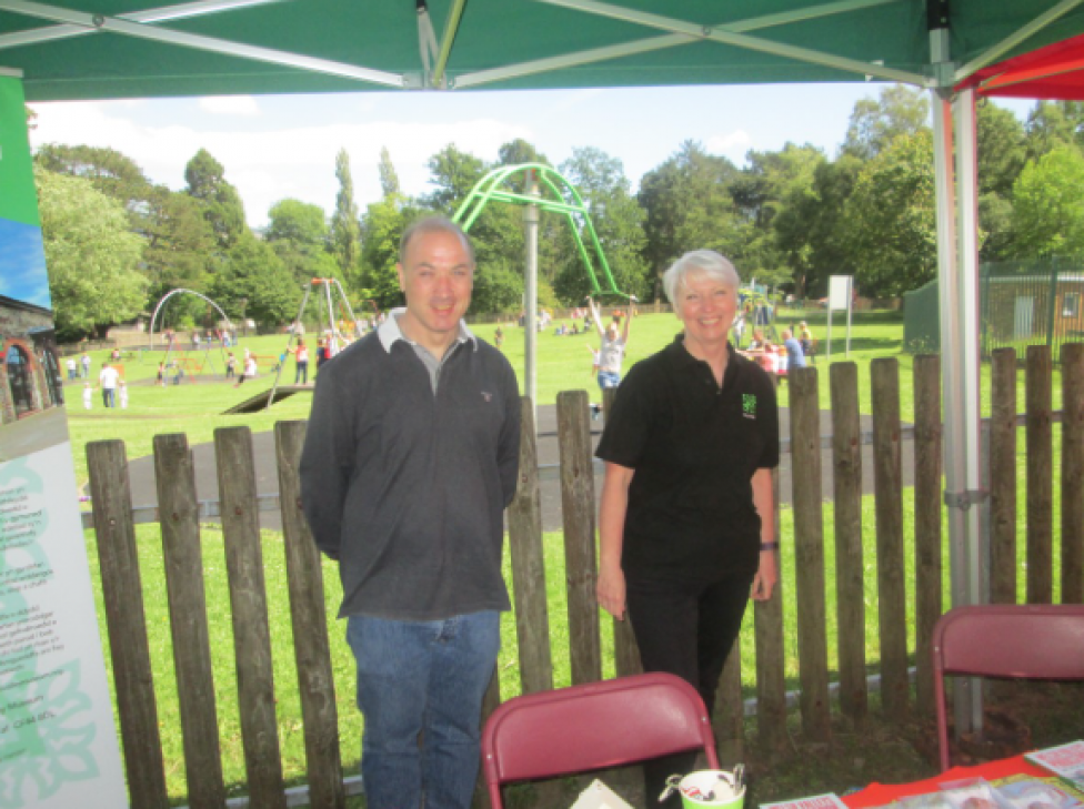 Cynon Valley Museum Volunteers at Aberdare Park