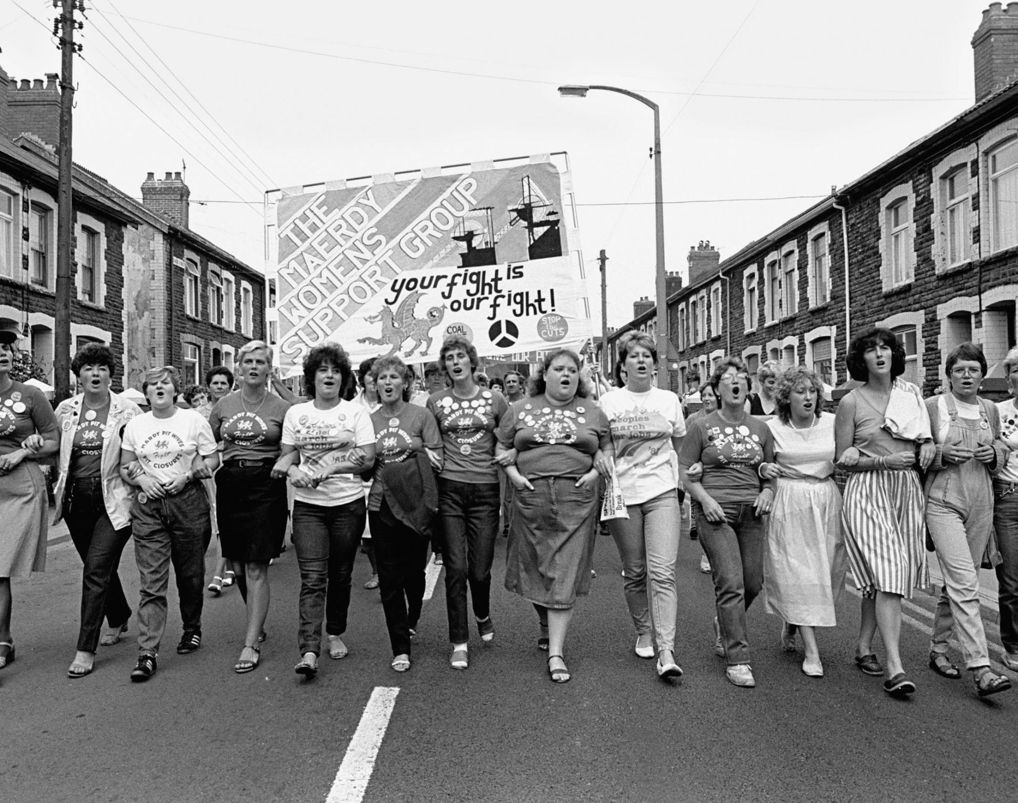 Maerdy Women's Support Group. Copyright Martin Shakeshaft
