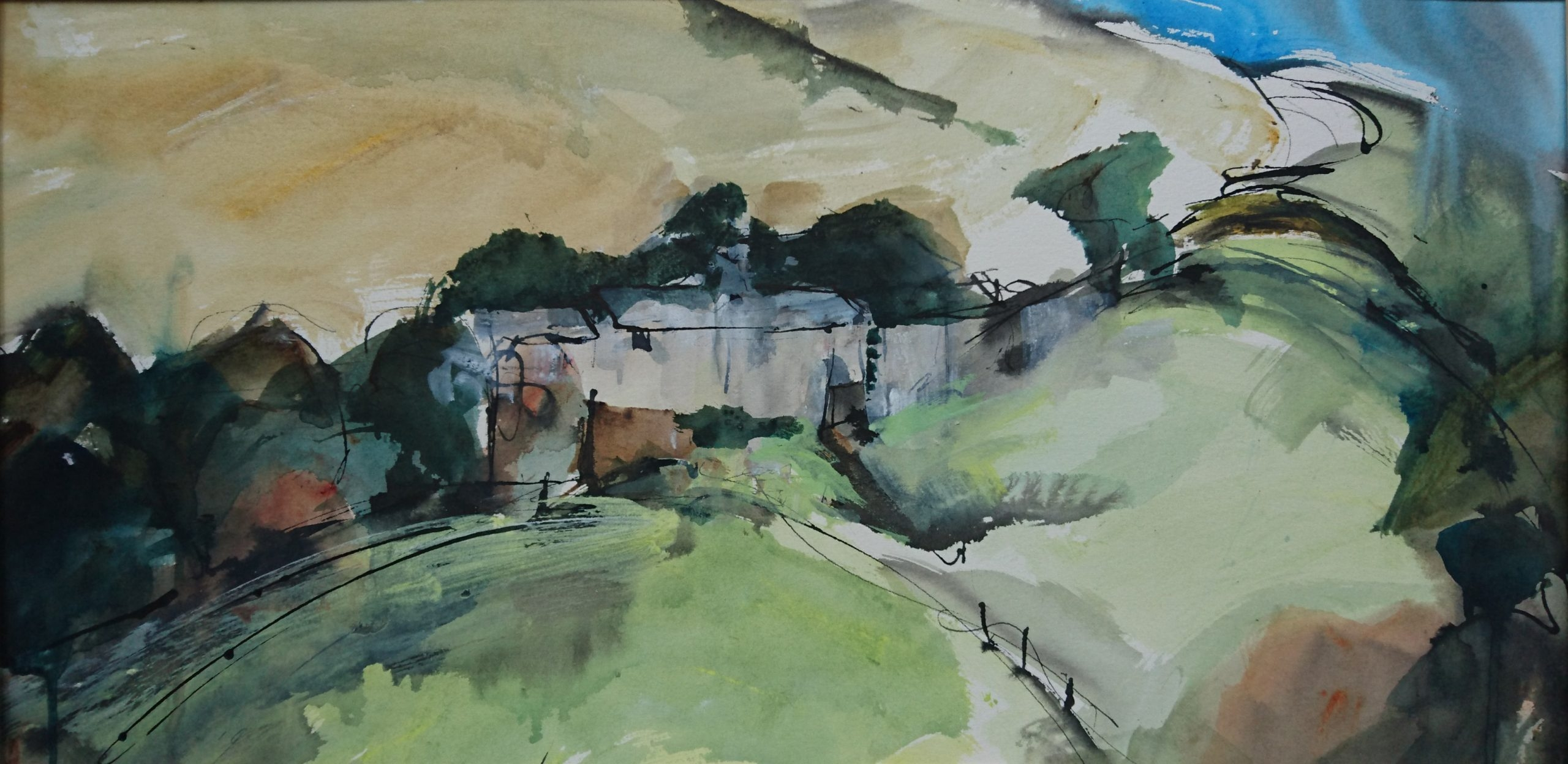 shirley-anne-owen-valley-farm-9-mixed-media-on-watercolour-paper-63w-x-30cm