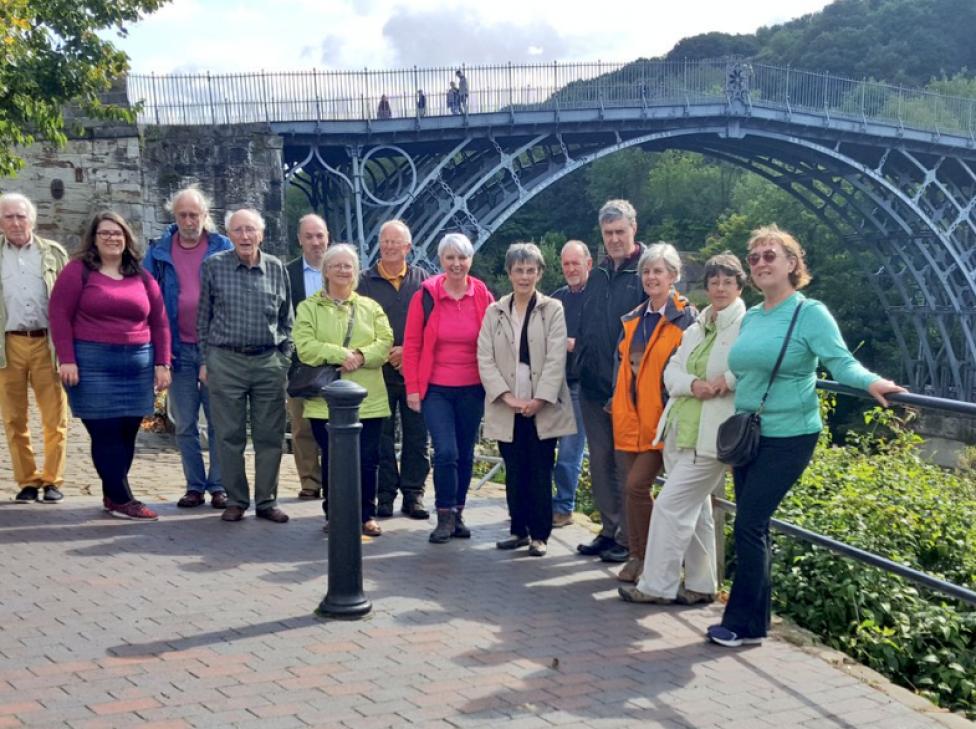 Cynon Valley Museum Volunteer trip to Ironbridge